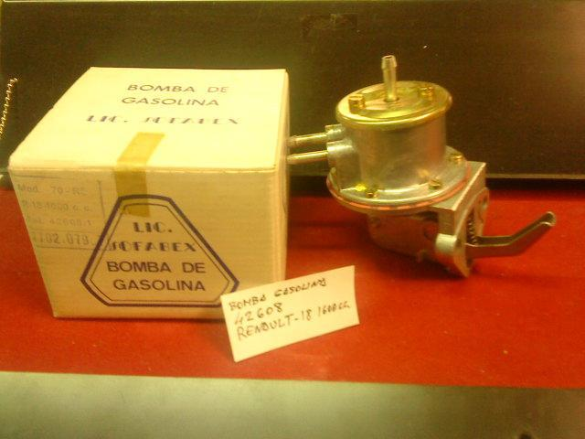 BOMBA GASOLINA RENAULT R-18 1600 CC REF. MARCHAL 42608/0