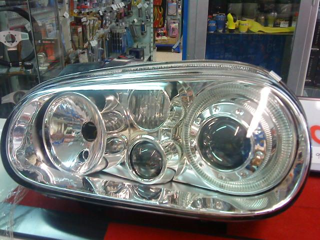 FAROS VW GOLF IV ANGEL EYES FONDO CROMADO (JGO) REF. KF-VG-005