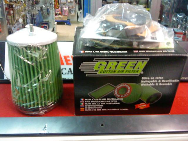 KIT ADMISION GREEN AUDI A3 1.8 125HP REF. P392