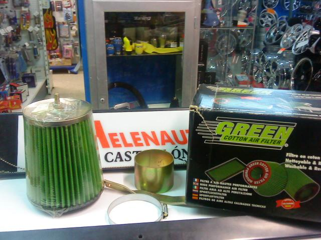 KIT ADMISION GREEN RENAULT R-19 1.9 TD REF. GRP210