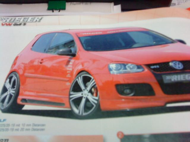 LATERALES GOLF V GTI - RIEGER ABS