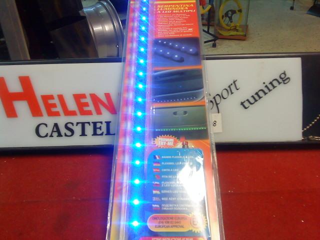 NEON LED ADHESIVO FLEXIBLE 38 CM AZUL REF.LA73610